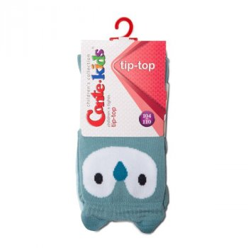 Колготки Conte Kids TIP-TOP Кошенята, 128-134 (20), Чорний-Жовтий (1001090110030486446)