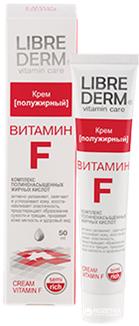 Крем напівжирний Librederm Вітамін F для сухої шкіри 50 мл (4620002183073)