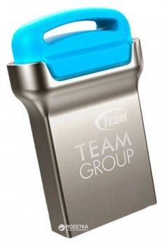 Team C161 USB 2.0 16GB Silver-Blue (TC16116GL01)