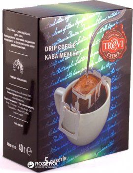 Дрип-кофе Trevi Crema 5 х 8 г (4820140050958)