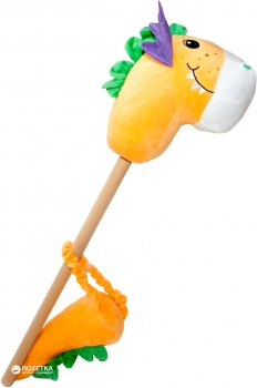 Игрушка Rock My Baby Дракон на палке с хвостом Оранжевый (JR008(O))