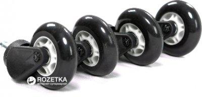 Ролики для офісних крісел AKRacing PU комплект 5 шт. Білі (Big PU wheels white)