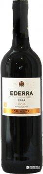 Вино Codorniu Ederra Crianza DOC Rioja красное сухое 0.75 л 13% (8411543111825)