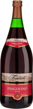 Фраголино Fontale красное сладкое 1.5 л 7.5% (8007531116080)