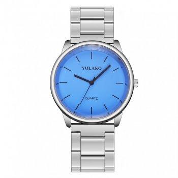 Женские классические часы Yolako, циферблат - синий, арт. (41477)
