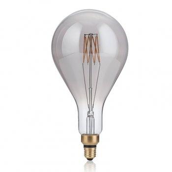 Світлодіодна лампа Ideal Lux Vintage Xl E27 8W Goccia Fume' 2200K (204543) 87558