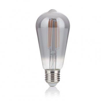 Світлодіодна лампа Ideal Lux Vintage E27 4W Cono Fume' 2200K (204451) 87572