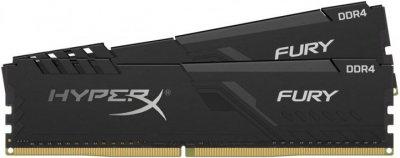 Оперативна пам'ять HyperX DDR4-2400 65536MB PC4-19200 (Kit of 2x32768) Fury Black (HX424C15FB3K2/64)