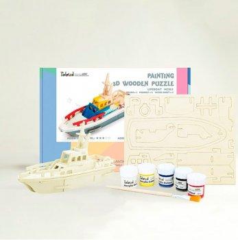 Конструктор-раскраска Robotime Спасательная лодка (PC261)