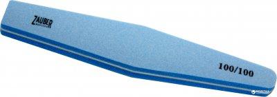 Пилка для нігтів Zauber-manicure гумова ромб 100/100 грит 03-021B (4004904130210)