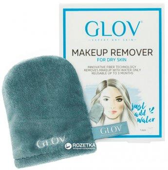 Рукавичка для снятия макияжа Glov Expert Dry Skin Серая (5902768711776)