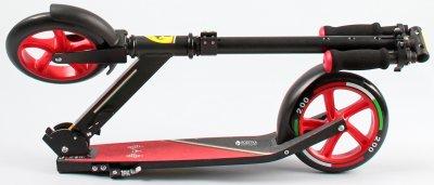 Самокат Ferrari двухколёсный Черный (6947045654642)