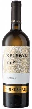 Вино Inkerman Reserve Riesling біле сухе 0.75 л 10-14% (4823090000288)