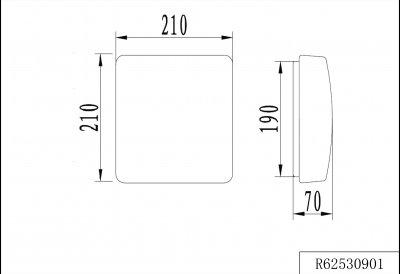 Потолочный светильник Reality Patz (R62530901)