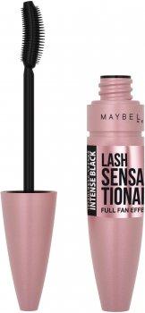 Тушь для ресниц Maybelline New York Lash Sensational Intense black оттенок Чернильно-чёрный 9.5 мл (3600531230883)