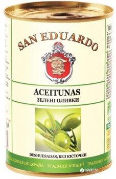 Оливки с косточкой San Eduardo 300 мл (5060235650604)
