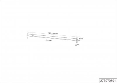 Світильник меблевий Trio Ramon (273070701)