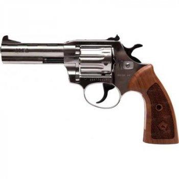 Револьвер под патрон Флобера Alfa 441 Classic (никель, дерево) (144919/11)
