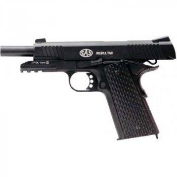Пневматический пистолет SAS M1911 Tactical (KMB-77AHN)