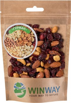Суміш горіхово-ягідна Winway Гурман 100 г (4821912900143)