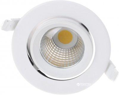 Светодиодный светильник точечный Brille LED-168/10W WW WH (32-184)