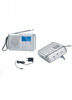 Радіоприймач SWDR 500 B1 SilverCrest 17х11,5см Сірий 000020122