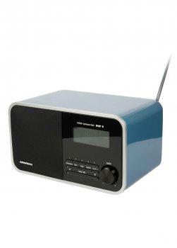 Цифрове радіо DTR 4000 DAB + BT Blue Grundig 27,5х13,5х14,5 см Блакитний 000018566