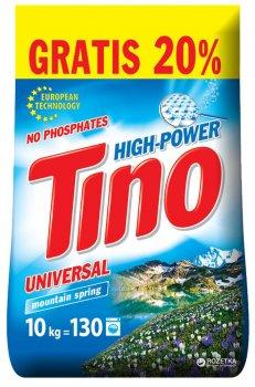 Пральний порошок універсальний Tino High-Power Mountain spring 10 кг (4823069705626)
