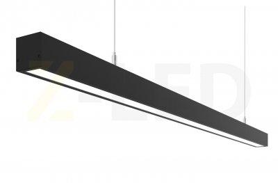 Лінійний світлодіодний світильник Z-LED 25Вт чорний (980x42x43) LSN-25b