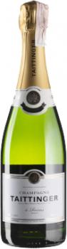 Шампанское Taittinger Demi sec белое полусухое 0.75 л 12.5% (3016570001375)