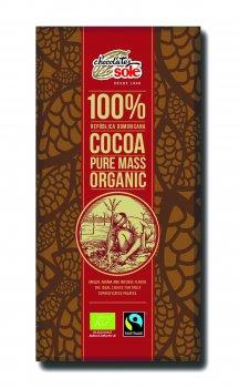 Шоколад органічний Sole Чорний 100% 100 г (8411066002846)
