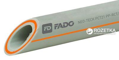 Труба поліпропіленова FADO PP-RCT армована скловолокном 25х4.2 мм, PPF25