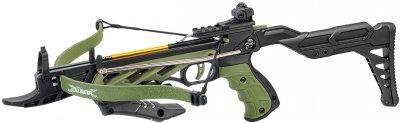 Арбалет-пістолет Man Kung MK/TCS2-G самозарядний 3 стріли (MK/TCS2-G)