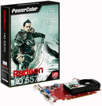 Видеокарта PCI-E ATI Radeon HD 5570, 1024 mb Б/У