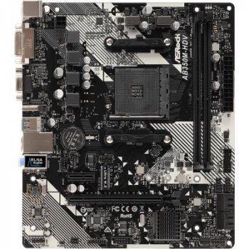 Материнська плата ASRock AB350M-HDV R4.0