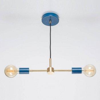 Стельовий світильник Milo синій