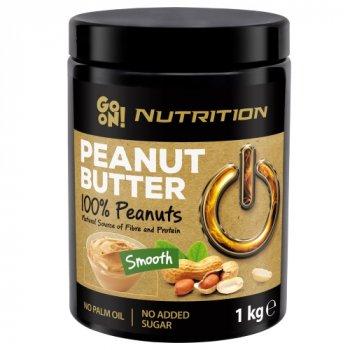 Арахисовая паста Go On Nutrition Peanut butter smooth 100% 1 кг