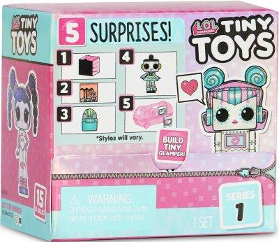 Игровой набор-сюрприз L.O.L Surprise! Tiny Toys Крошки (565796)