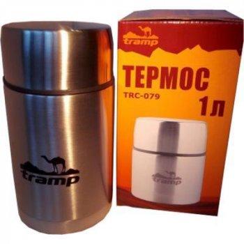 Термос Tramp з широким горлом 1л (TRC-079)
