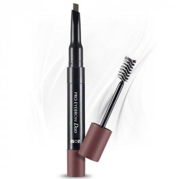 Туш + олівець для брів VOV Pro Duo Eyebrow