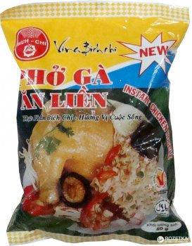 Лапша рисовая Bich-Chi со вкусом курицы 60 г (8934863308305)