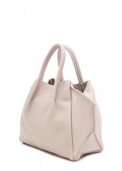 Кожаная сумка POOLPARTY Soho Remix beige