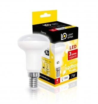 Світлодіодна лампа Light Offer LED R50 7W E14 4000K 740Lm (LЕD - 07 - 121)