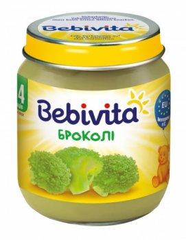 Овочеве пюре Bebivita Брокколі, 125 г (093943)