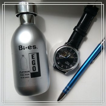 Туалетная вода для мужчин Bi-es Ego Platinum Hugo boss Hugo element 100 мл (5907699480524)