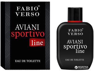 Туалетная вода для мужчин Fabio Verso Aviani Sportivo Line Armani sport code armani 100 мл (5905009044459)