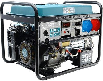 Генератор бензиновый Konner&Sohnen KS 7000E 1/3