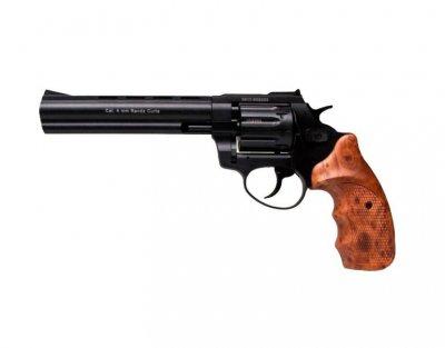 """Револьвер під патрон Флобера STALKER 4 мм 6"""" коричн. рук. 38800041"""