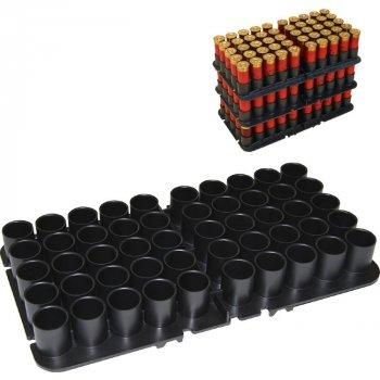Подставка MTM Shotshell Tray на 50 глакоств. патронов 16 кал. Цвет - черный. 17730897