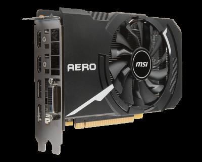 Видеокарта MSI PCI-Ex GeForce GTX 1060 Aero ITX OC 6GB GDDR5 (192bit) (1544/8008) (DVI, 2 x HDMI, 2 x DisplayPort) Refurbished